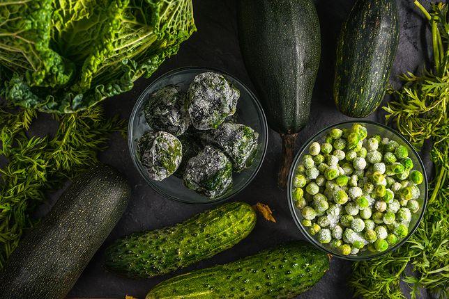 Zielone warzywa posiadają wysoką zawartość witamin i minerałów.
