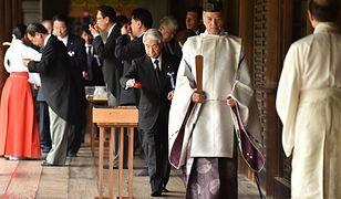 Premier Japonii złożył rytualną ofiarę w świątyni Yasukuni
