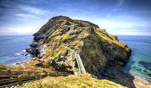 Tintagel - powstanie niezwykły most, który poprowadzi do  zamku króla Artura