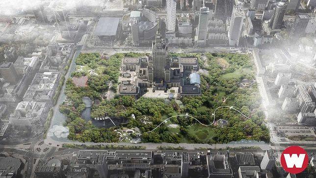 Samą wizualizację Warszawskiego Parku Centralnego stworzyło dwoje młodych architektów: Patrycja Stołtny i Michał Sapko