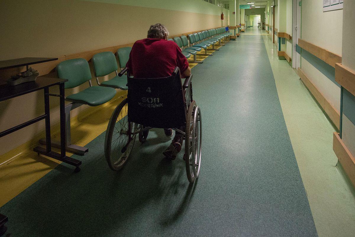 Problem pacjentów szpitala psychiatrycznego. Jeden z nich napisał list