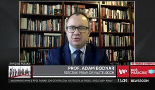 Strajk kobiet. Adam Bodnar komentuje wezwanie Jarosława Kaczyńskiego do obrony kościołów