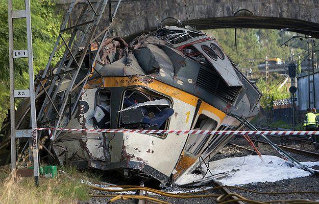 Katastrofa w Hiszpanii. Wykoleił się pociąg, cztery osoby nie żyją, a 47 jest rannych