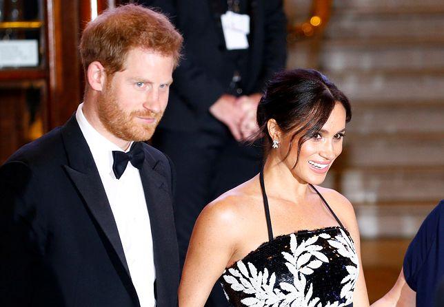 Księżna Meghan i książę Harry nie spędzają razem rocznicy. Wiadomo, co ich rozdzieliło