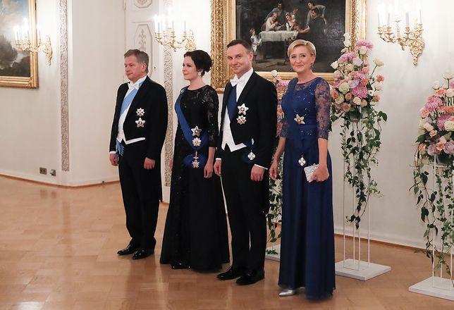 Para prezydencka z wizytą w Helsinkach
