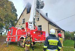 Tragiczny pożar niedaleko Słupska. Jest ofiara śmiertelna