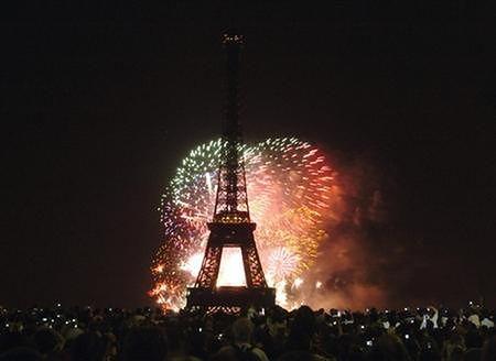 Parada w Dzień Niepodległości we Francji