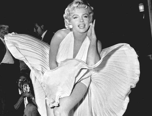 Marylin Monroe stała się ponadczasowym symbolem seksu