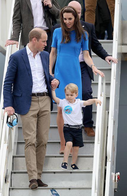 Książę Jerzy i księżniczka Charlotte polecą za ocean