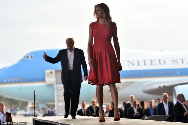 Jedno z pierwszych wystąpień Melanii Trump