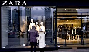 Zara - na sklepach jest jeszcze stare logo