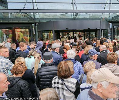 Tłumy na otwarciu Galerii Północnej, w której otwarto jeden ze sklepów Zarina