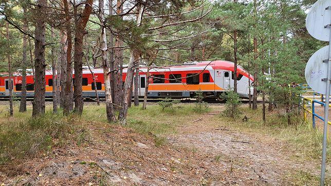 Po wypadku linia kolejowa do Helu została zablokowana