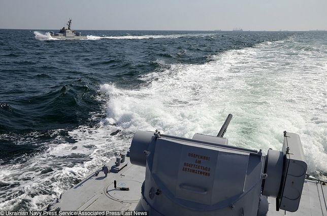 W niedzielę doszło do serii incydentów w Cieśninie Kerczeńskiej, łączącej Morze Czarne i Morze Azowskie