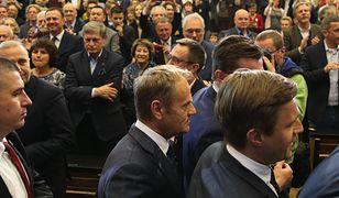 """Donald Tusk """"bisował"""" dla osób, które nie zmieściły się w auli UW"""