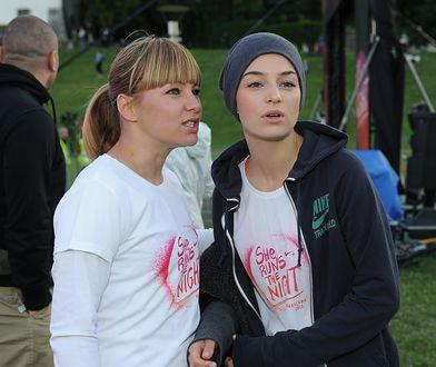 Kasia Bujakiewicz i Agnieszka Więdłocha wystąpiły razem w reklamie. Nie wyglądały naturalnie