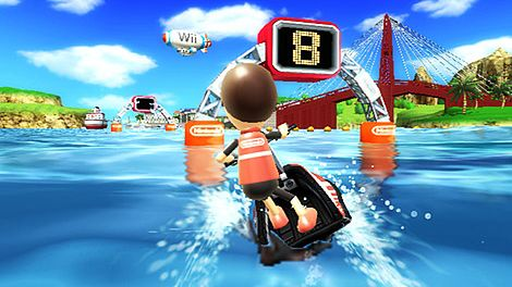 Wii Sports Resort - trzeci najlepszy start na Wii w KKW