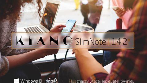 KIANO SlimNote 14.2+ z 4GB RAM w cenie 899 zł!