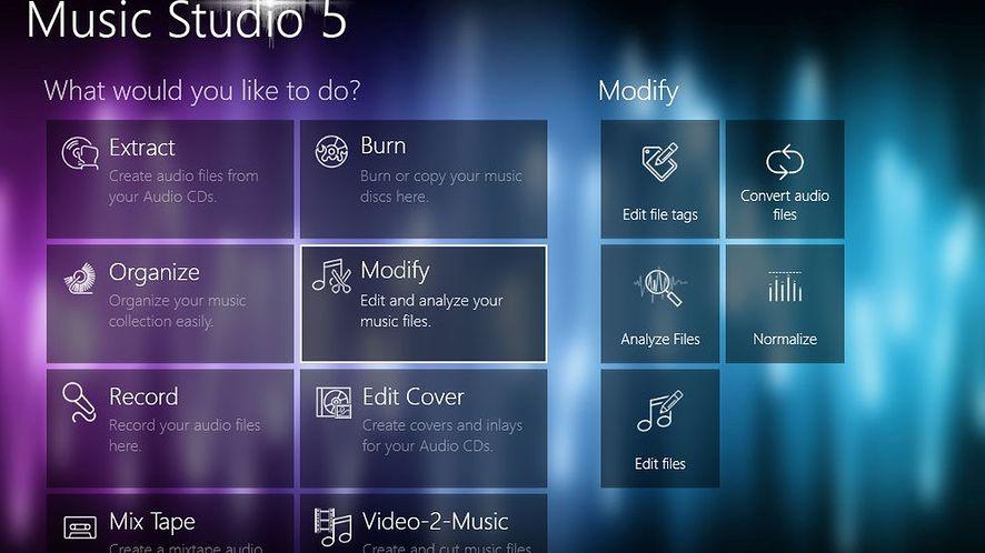 Ashampoo Music Studio 5 pozwoli zapisać dźwięki w formacie Opus