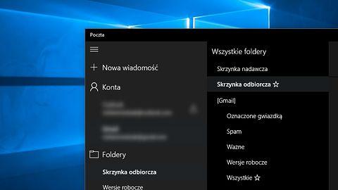 Poczta w Windows 10 teraz w ciemnej kompozycji i z obsługą S/MIME