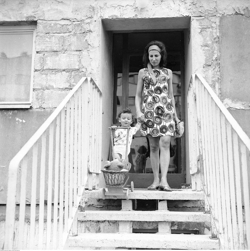 Na osiedlu w 1970 roku