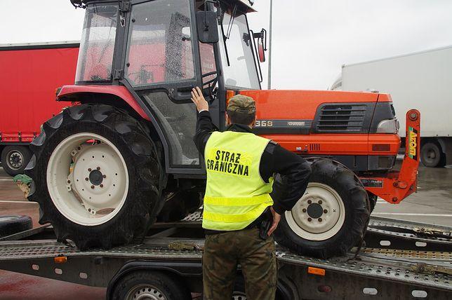 Wywoził z Polski traktor skradziony w Japonii