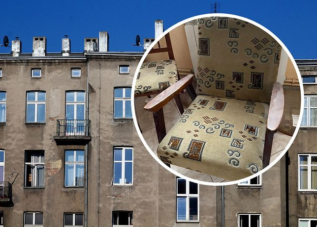 Maciej dorabia np. na odbieraniu starych mebli z likwidowanych mieszkań.