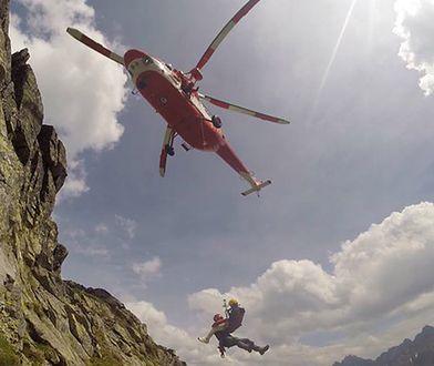 Kamienna lawina zeszła w Tatrach Słowackich. Nie żyje jedna osoba
