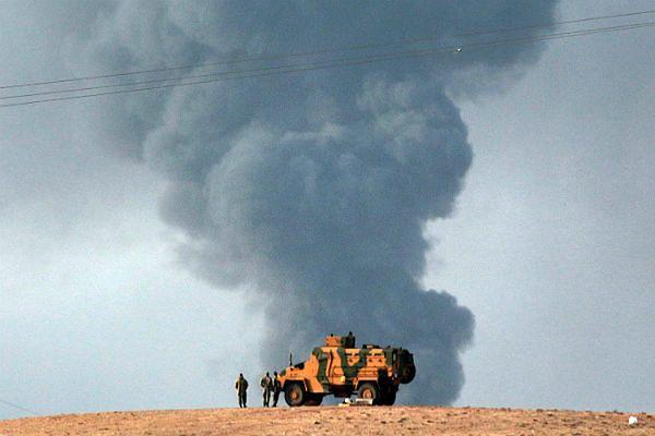 Państwo Islamskie skoncentrowało główne siły na zdobyciu miasta Kobani w północnej Syrii