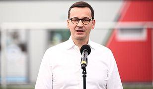 Premier Mateusz Morawiecki bagatelizuje oskarżenia o niszczeniu demokracji przez obóz Zjednoczonej Prawicy