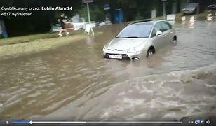 Przejazd komunikacją miejską w Lublinie przypominał podróż amfibią