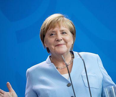 Kanclerz Angela Merkel wygłosiła specjalne przemówienie