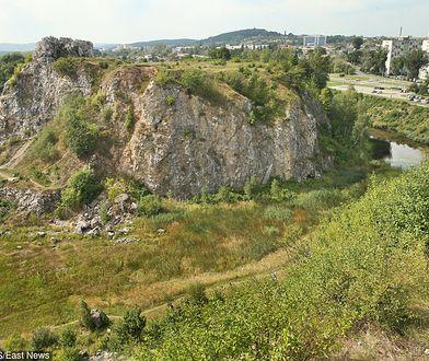 Do wypadku z udziałem 14-latka doszło na terenie rezerwatu przyrody Kadzielnia w Kielcach na tzw. Skałce Geologów