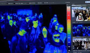 Kamery termowizyjne mają pomóc w rozprzestrzenianiu się wirusa