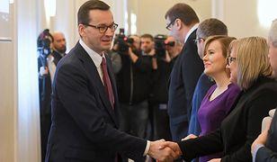 Posiedzenie rządu Mateusza Morawieckiego