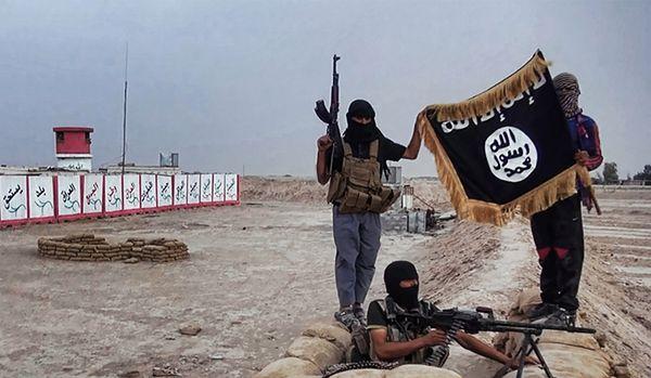 Islamiści z ISIL w Iraku