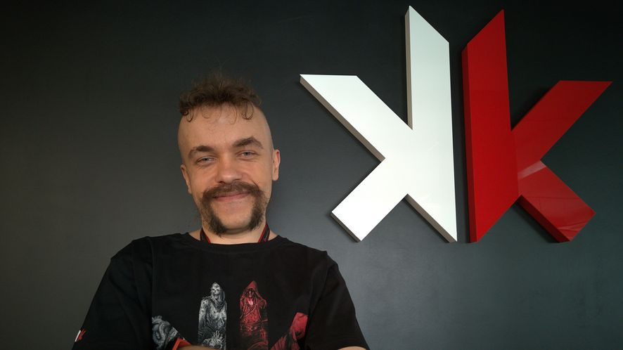 Przemysław Tarczyński ze studia Spokko należącego do grupy CD Projekt