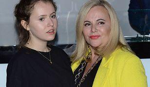 Joanna Kurowska z 18-letnią córką Zofią Świątkiewicz