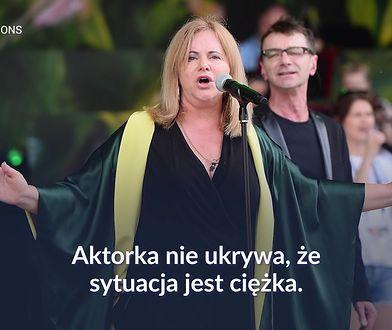 """Joanna Kurowska nie ma jak zarabiać. """"Wyobrażenia, że za rolę w serialu można kupić willę, są wyssane z palca"""""""