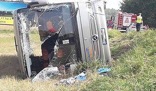 Wypadek w Klewkach pod Olsztynem. Groźny wypadek na DK53