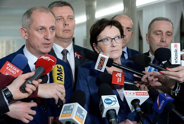PO: wybór sędziów TK odbył się na nielegalnym posiedzeniu Sejmu