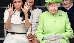 Księżna Meghan zapewne nie jest ulubienicą królowej Elżbiety II