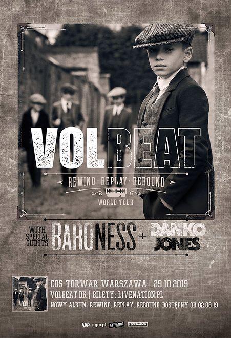 Zespół Volbeat wkrótce odwiedzi Polskę