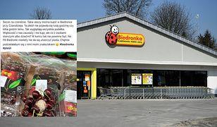 Biedronka wyjaśnia skąd się wzięła pleśń na czereśniach w jednym ze sklepów sieci