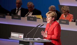Angela Merkel podczas konferencji CDU w Essen.