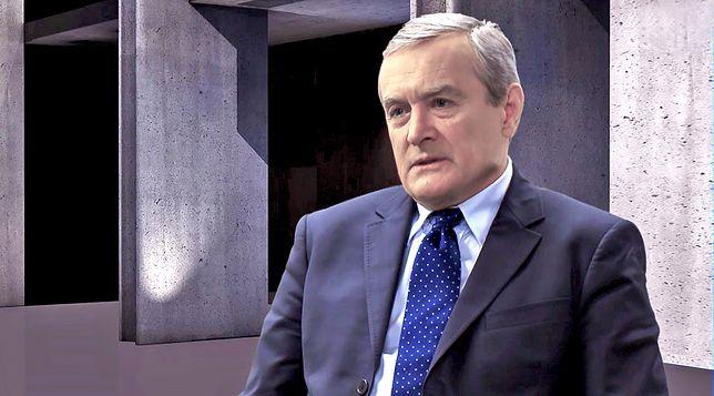 Gliński wyjaśniał, że PiS od lat uczestniczy w obchodach Święta Niepodległości w Krakowie, bo nie chce mieć nic wspólnego z awanturami.