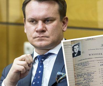 Dominik Tarczyński bronił dziadka. Zbadaliśmy teczkę Józefa Albińskiego