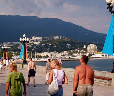 Turyści podczas wycieczki