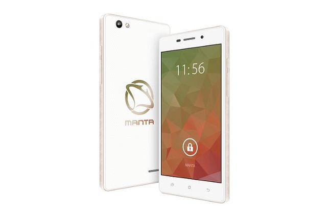 Kolejny smartfon od Manty - 5 cali i atrakcyjna cena