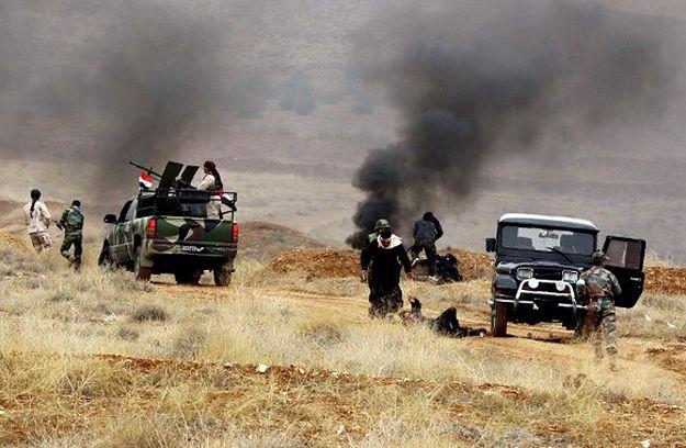 Operacja syryjskich rebeliantów w prowincji Hims.